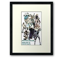 Metal Gear Solid 2: Sons of liberty Framed Print
