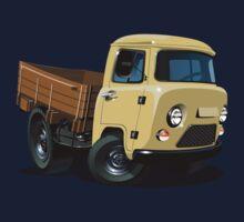 Cartoon delivery cargo pickup Kids Tee