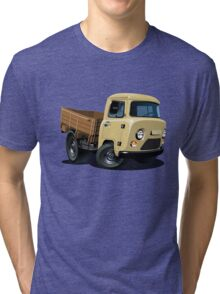 Cartoon delivery cargo pickup Tri-blend T-Shirt