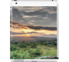 Sheep on the Tor iPad Case/Skin