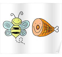 Bee Ham Birmingham Alabama  Poster