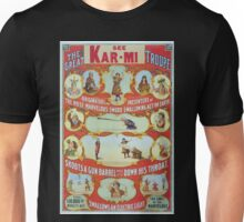 Performing Arts Posters The great Victorina Troupe originators and presenters of the most marvelous sword swallowing act on earth 3048 Unisex T-Shirt