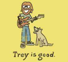 Trey is good. Baby Tee