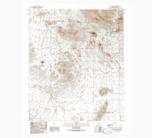 USGS TOPO Map Arizona AZ Chico Shunie 310843 1990 24000 Kids Tee