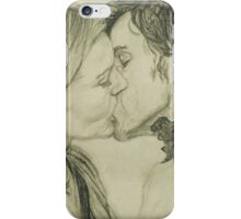 Kissing in Neverland  iPhone Case/Skin