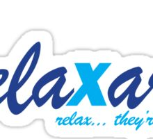Relaxarex - Transparent Background Sticker