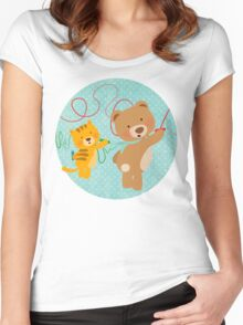 I love drawing Women's Fitted Scoop T-Shirt