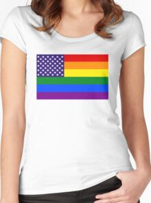 USgAy Women's Fitted Scoop T-Shirt