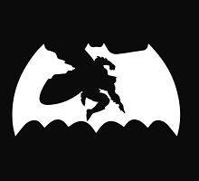 The Dark Knight Returns - one color logo by gamac74