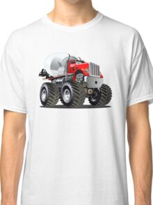 Cartoon Mixer Monster Truck Classic T-Shirt