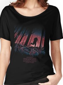 Stranger Things Run Women's Relaxed Fit T-Shirt