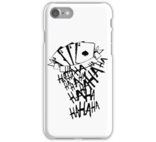 Joker laugh iPhone Case/Skin
