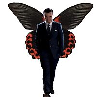 Moriarty with butterfly wings  by sherlokian