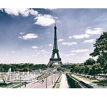 La Tour Eiffel Photographic Print