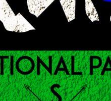 BADLANDS NATIONAL PARK SOUTH DAKOTA USA MOUNTAINS HIKING CAMPING HIKE CAMP HUNTING Sticker