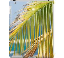 palm leaves  iPad Case/Skin