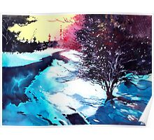 Icy Morning Poster