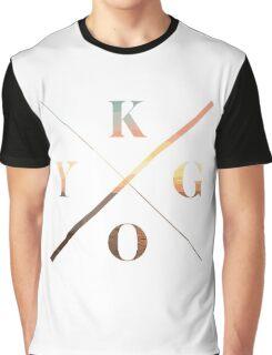 KYGO White Graphic T-Shirt