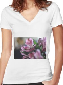 My Inspiration Women's Fitted V-Neck T-Shirt