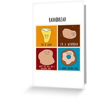 Radiobread Greeting Card