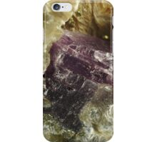 Purple Anhydrite iPhone Case/Skin
