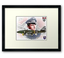 "Major Walter ""Nowi"" Nowotny Framed Print"