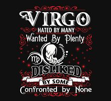 Virgo - Hated By Many - Wanted by Plenty, Disliked By some, Confronted by None Womens Fitted T-Shirt
