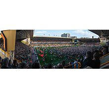 Wolves Promotion Pitch Invastion Photographic Print