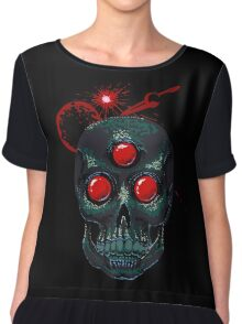 Horror From Beyond Time and Spaaaaaaace! Women's Chiffon Top