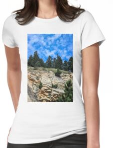 Colorado Contrast Womens Fitted T-Shirt