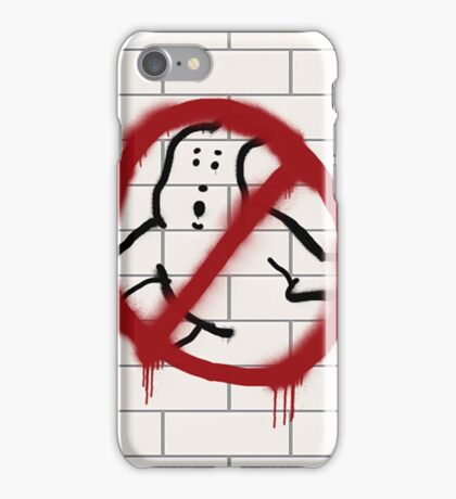 Ghostbusters spray paint logo iPhone Case/Skin