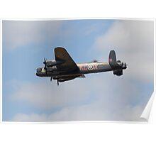 RAF BBMF Lancaster, PA474 AKA THUMPER Poster
