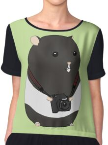 Hamster Photographer Chiffon Top