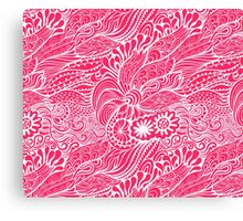 Strawberry Abstract Canvas Print