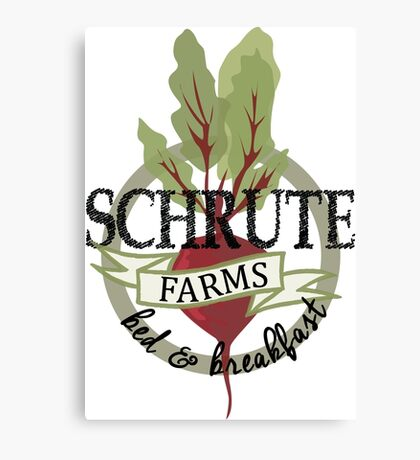Schrute Farms Bed and Breakfast Canvas Print
