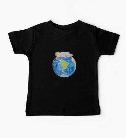 Baby on Planet Earth Baby Tee