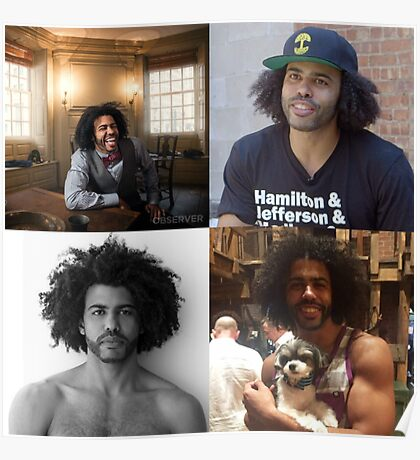 Daveed Diggs Collage Poster