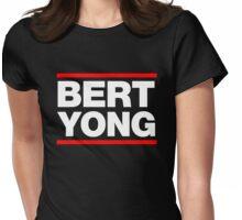 BERT YONG (RUN DMC) Womens Fitted T-Shirt