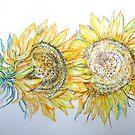 AUGUST SUNFLOWERS by Gea Austen