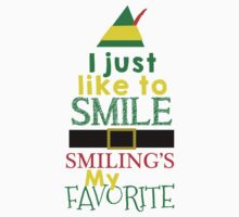 Smilings My Favorite - Buddy the Elf One Piece - Long Sleeve
