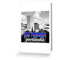 Portlandia Greeting Card