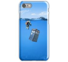 Tardis In The Water iPhone Case/Skin