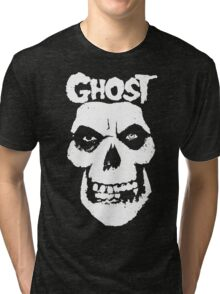 Crimson Ghost B.C Skull Tri-blend T-Shirt