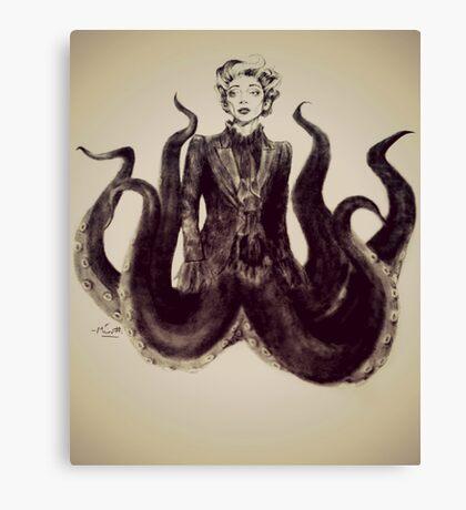 Ms Casper Canvas Print