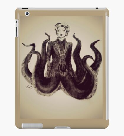 Ms Casper iPad Case/Skin