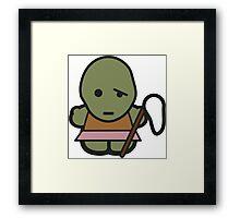 Hello Toxie Framed Print