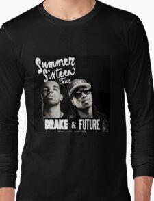 BLACK POSTER SUMMER TOUR SIXTEEN 2016 Long Sleeve T-Shirt