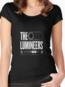 the lumineers Women's Fitted Scoop T-Shirt