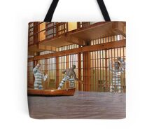 I know we agreed to try to free everyone but if we spring Aleek I'm afraid there'll be trouble. Tote Bag