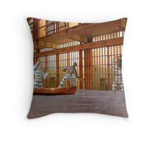 I know we agreed to try to free everyone but if we spring Aleek I'm afraid there'll be trouble. Throw Pillow